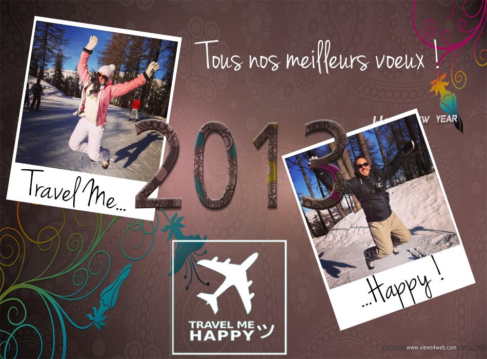 voeux travel me happy 2013