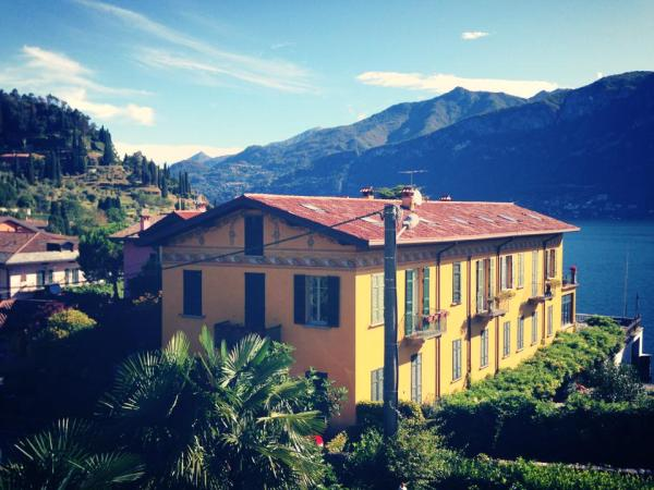 vue de l'hotel Mira Lago au lac de côme