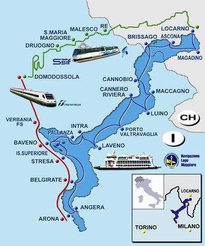 lago maggiore express tour du lac majeur en train et en