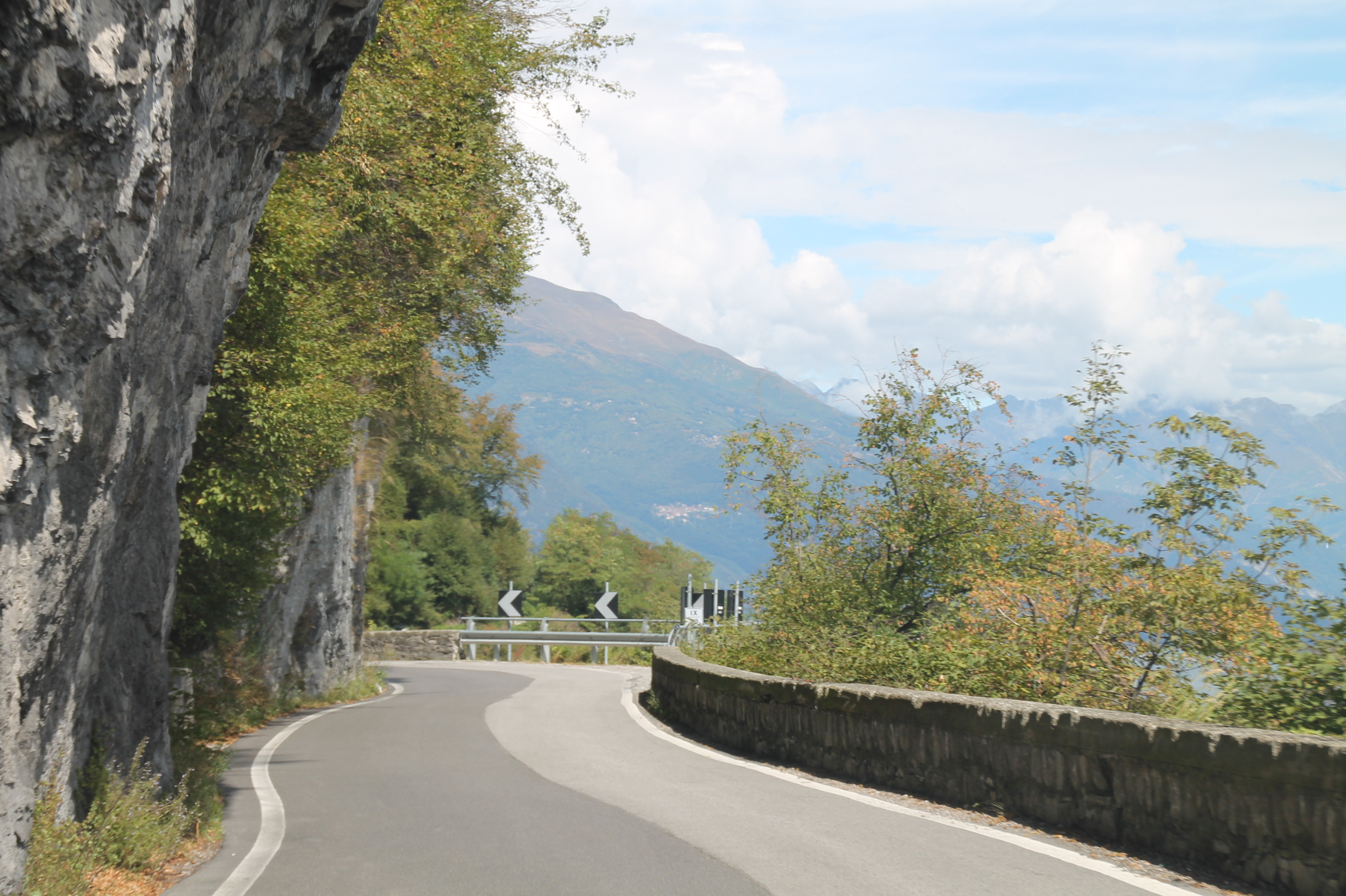 Route Lac de Côme
