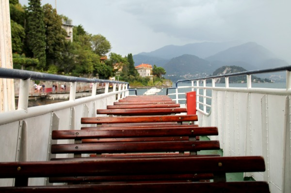 bateau Lac de Côme Bellagio