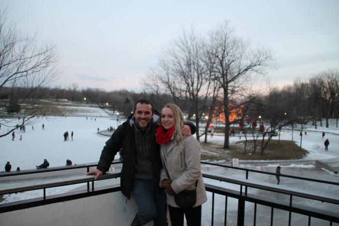 Avec ma cousine Caro